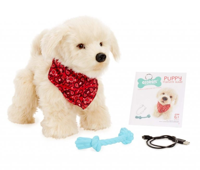 Georgie – Interactive Plush Electronic Puppy